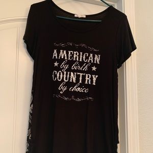 Maurice's country shirt